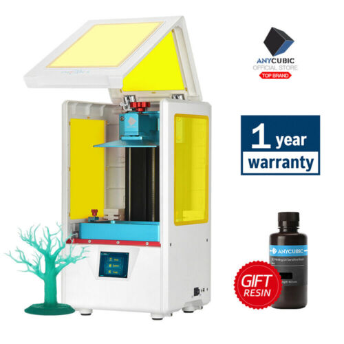 "Anycubic Photon SLA DLP 3D Printer UV LED 405nm Resin Light Cure HD 2.8"" TFT DIY"