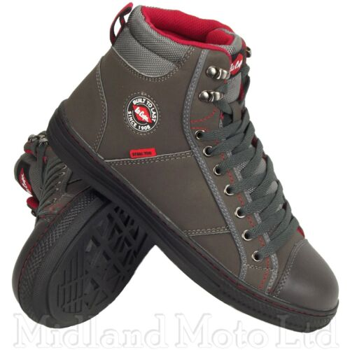 Lee Cooper Steel Toe Cap Grey Baseball Style Safety Boots. Trainers Shoes. 22G