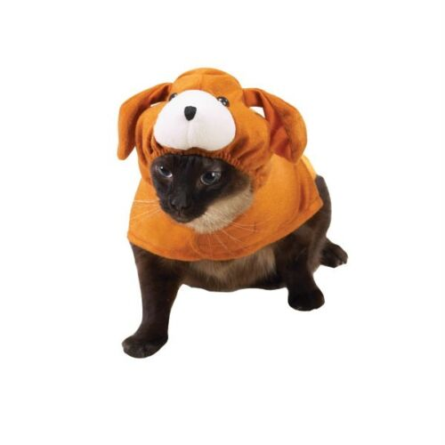 SAVVY TABBY CANINE KITTY CAT COSTUME Halloween S M L  Turns your cat into a dog!