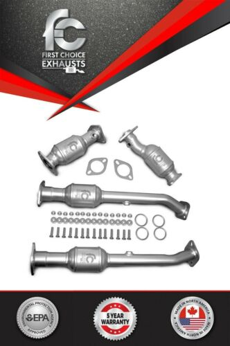 Fits 2005-2017 Nissan Frontier/Xterra/Pathfinder Catalytic Converter Set 4.0L <br/> 99.7+ Feedback score- 5 Year Warranty- Free Shipping