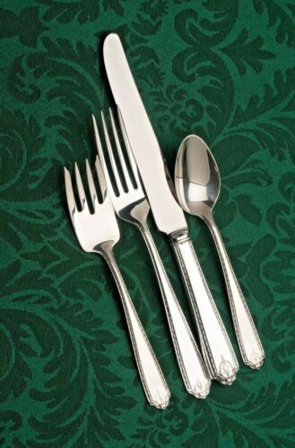 Lady Hilton by Westmoreland Sterling Silver 4pc Place Setting, French Blade