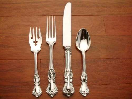 Marlborough Sterling Silver by Reed & Barton 4pc Lunch SIZE Setting, French