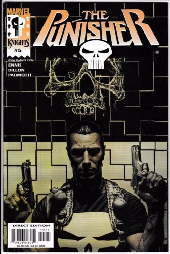PUNISHER MARVEL KNIGHTS 5 Vol 3 2000 N/M Never Read NOS Ennis Dillon Palmiotti