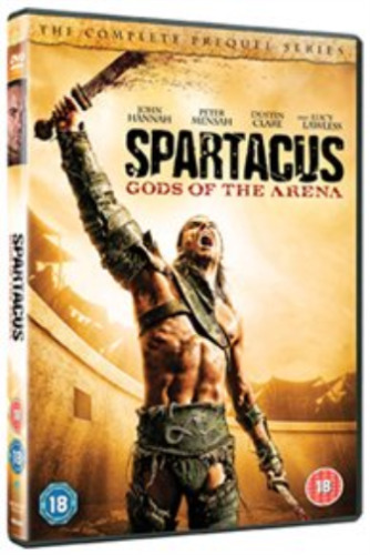 John Hannah, Lucy Lawless-Spartacus - Gods of the Arena  DVD NEW