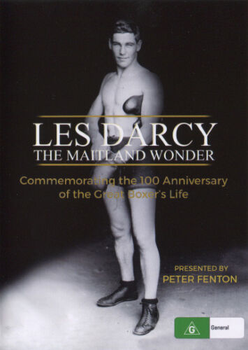 LES DARCY ~ THE MAITLAND WONDER ~ NEW/SEALED ~ 100 Anniversary Edition