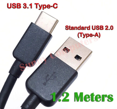 Genuine USB-C USB Type-C Adapter Cable Data Power Charge Cord For HTC U11 Life