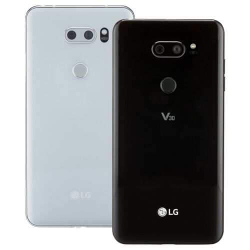 LG V30 Smartphone AT&T Sprint T-Mobile Verizon or Unlocked 4G LTE <br/> 30-Day Warranty - Free Charger & Cable - Easy Returns!
