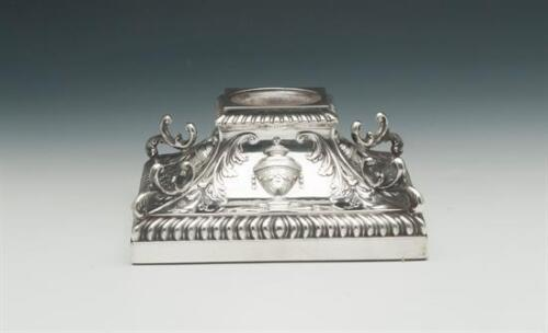 Candlestick Base With Holder Able To Use A Candle, England In Sheffield Sterling