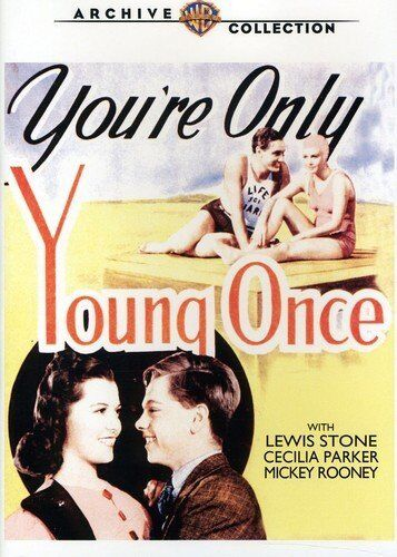 You're Only Young Once (1937) Mickey Rooney DVD *New & Sealed* All Regions