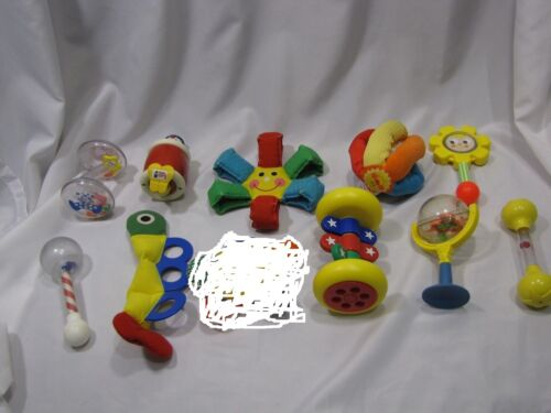 YOU PICK / CHOOSE (1) ONE VINTAGE 70S 80S BABY INFANT TOY JOHNSON AND JOHNSON