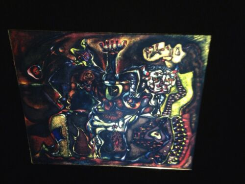 """Andre Masson """"Pasiphae"""" French Surrealism 35mm Slide"""