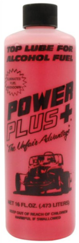 1 Bottle CHERRY SCENTED Power Plus Lube Fuel Additive Alcohol Top Lube  16oz
