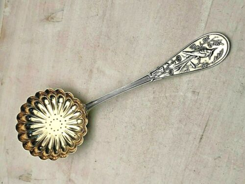 Tiffany & Company Sterling  Pierced Ladle/sugar shaker  in the Japanese pattern