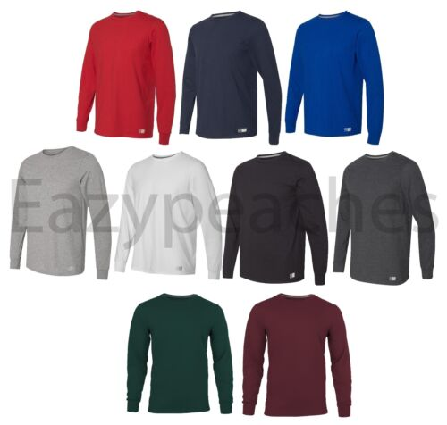 Russell Athletic - Men's Essential Blend Long Sleeve, Tee, Sports T-Shirt, S-3XL