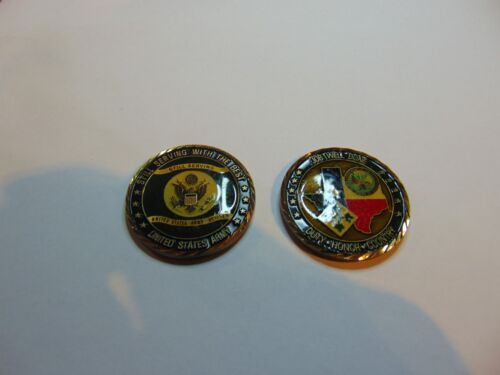 Challenge Coin US Army 4th Infantry Division Ft Hood Texas Still Serving