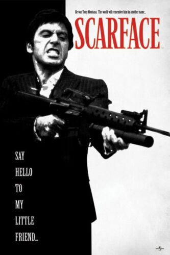 SCARFACE - SAY HELLO POSTER 24x36 - MOVIE 2598