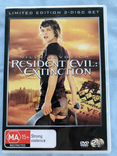 Resident Evil Extinction: 2 Disc - Limited Edition. (2012). LIKE NEW. Region 4.