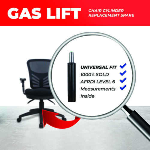 Universal Gas Lift Office Chair Cylinder Strut Pneumatic Chairs Gas Lifts SAVE$$ <br/> *FREE EXPRESS POST* | Top Warranty | 30 Day Money Back