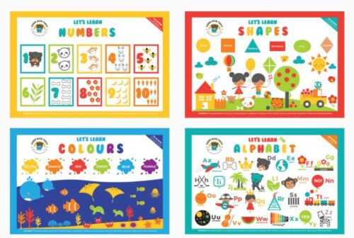 20 Educational and Fun Disposable Placemats for Babies & Toddlers