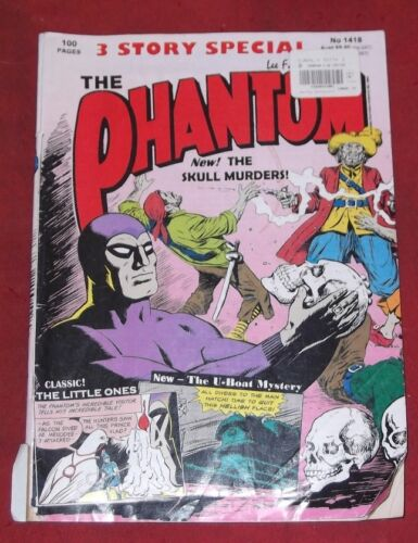 THE PHANTOM ~ No 1418 ~ 3 Story Special