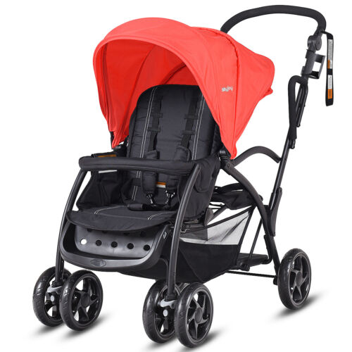 3Wheel Baby Stroller Toddler Kid City Jogger Pram Folding Reclining Travel Buggy <br/> 6%OFF, Weekly Deal, Limited quantities, Ends 21th Aug.