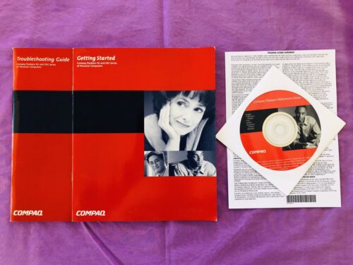 Compaq Deskpro Reference CD, Manuals & Licence. BRAND NEW Rare & Collectable.