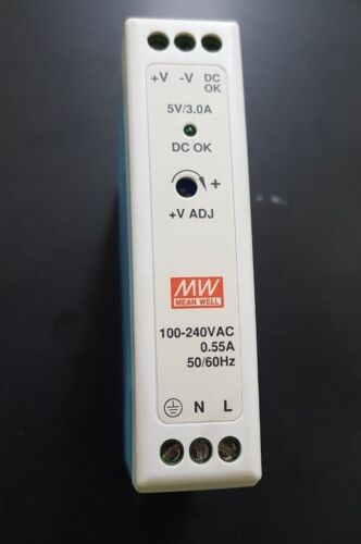 MEAN WELL MDR-20-5 POWER SUPPLY ((IN18S3B4))