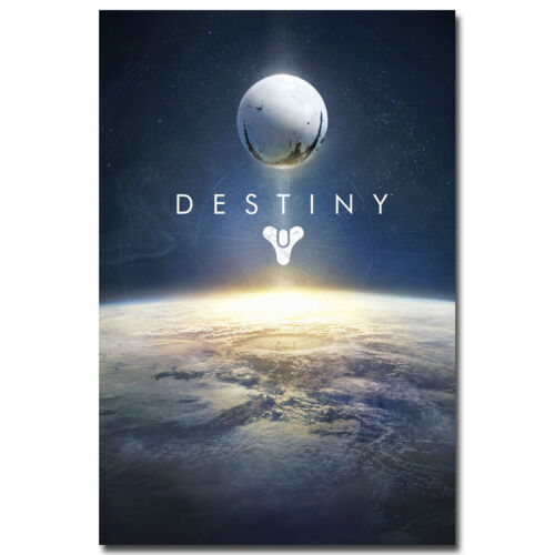 Hot Game Destiny Silk Fabric Wall Poster 24x36 inch 001
