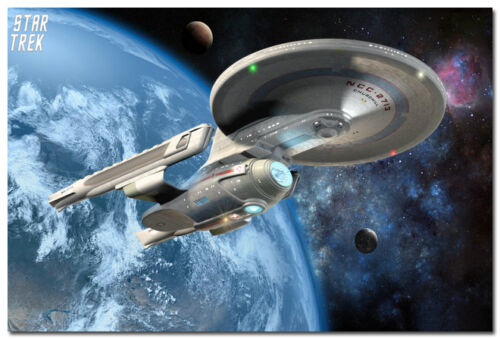 Star Trek Movie Art Silk Poster 13x20 20x30 24x36 inch USS NCC 2713