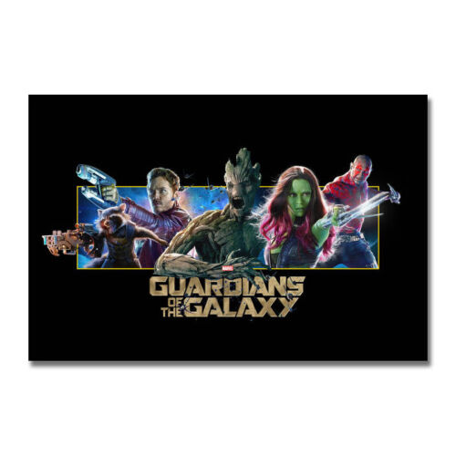 Guardians Of The Galaxy Movie Art Silk Canvas Poster 13x20 24x36 inch