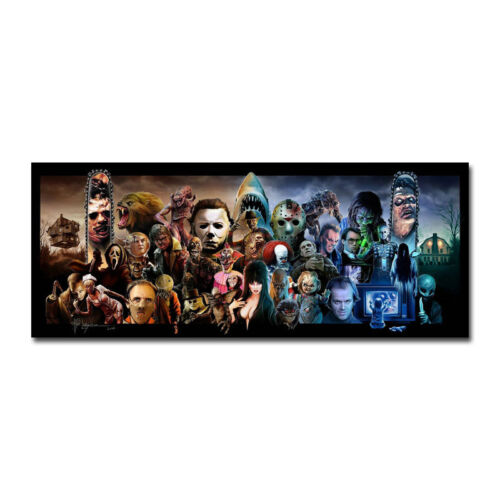 Expendables Of Horror Art Silk Fabric Poster 13x32 24x60 inch J654
