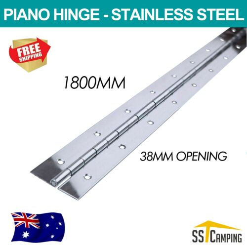 1800mm Piano Continuous Hinge Drilled Stainless Steel  Boat Truck, Hot Cakes !