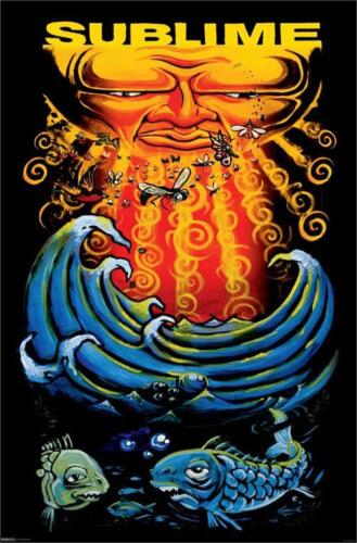 SUBLIME - SUN AND FISH POSTER 24x36 - MUSIC 0742