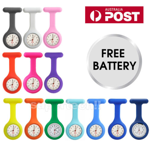 2020 Fashion Rose Gold Nurse Fob Watch Large Face Nursing Pendant Pocket Watch
