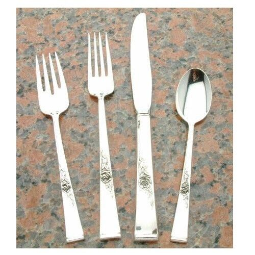 Classic Rose by Reed & Barton 4 piece Place Setting, Sterling Silver
