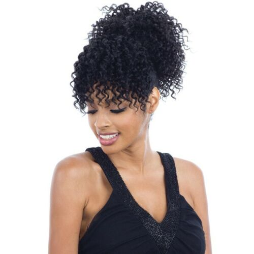 POP BELL - FREETRESS EQUAL SYNTHETIC DRAWSTRING PONYTAIL & BANG