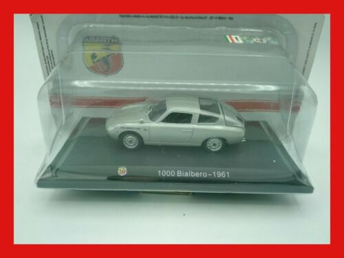1:43 1/43 HACHETTE abarth collection 1000 bialbero 1961 - MB