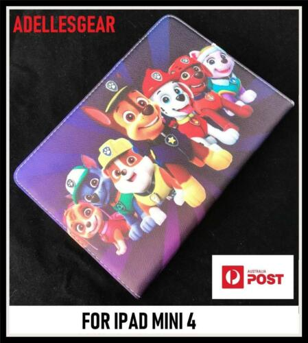 KIDS OR CHILDRENS  IPAD MINI 4 - PAW PATROL PURPLE  DESIGN 2