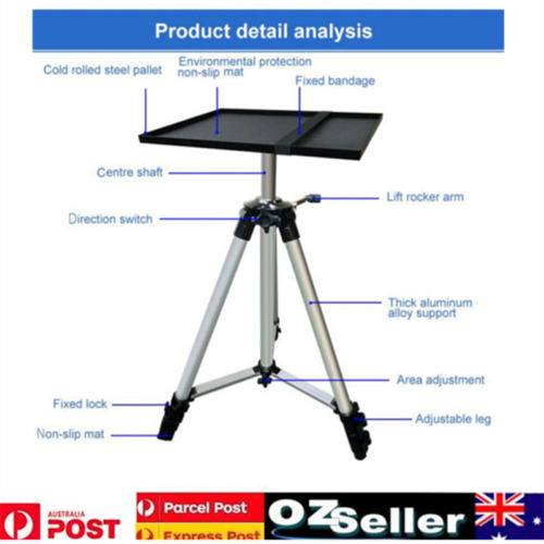 Adjustable Notebook Holder Projector Stand With Tray Projector Laptop Notebook