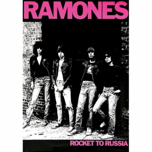 RAMONES - ROCKET TO RUSSIA POSTER - 24x36 - MUSIC ROCK BAND 0426