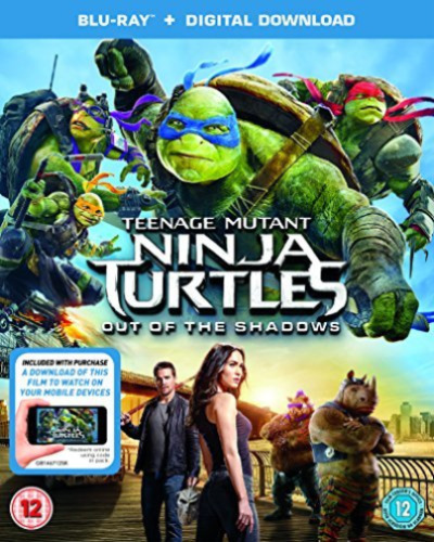 TMNT OUT OF THE SHADOWS (BRD/ITUNES) Blu-Ray NEW