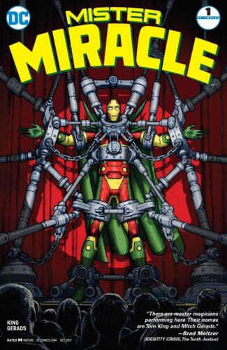 MISTER MIRACLE vol 3 #1  cover A  VF- DC 1st print! Tom King Gerards MR 2017