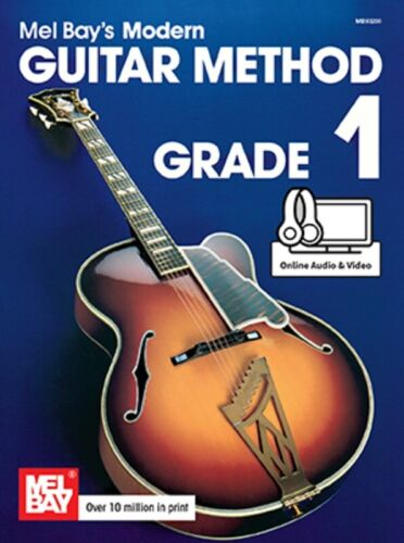 Mel Bays Modern Guitar Method Grade 1 Learn to Play Song Sheet Music Book