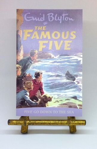NEW Five Go Down to the Sea Famous Five #12 by Enid Blyton illustrated paperback