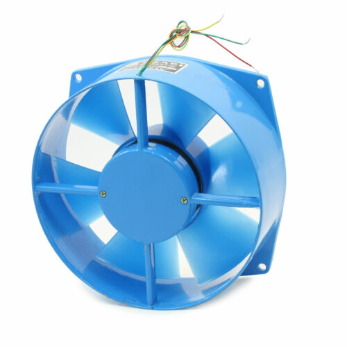 380VAC 65W 73mm Thick 200mm 20cm Dia Axial Cooling Fan Blower 200FZY7-D