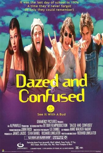 DAZED AND CONFUSED - CLASSIC MOVIE POSTER 24x36 - 48552