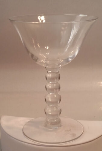 IMPERIAL GLASS CO OHIO - CANDLEWICK LIQUOR COCKTAIL GOBLET - 4 5/8""