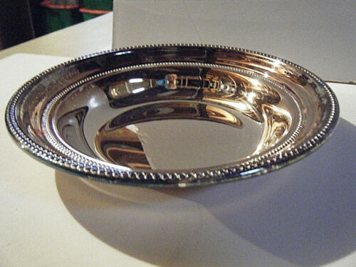 VINTAGE TOWLE SILVER PLATED BON BON BOWL - 6665 - NEW IN BOX