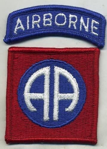 Vietnam Era US Army 82nd Airborne Color Patch W/Airborne TabPatches - 36078