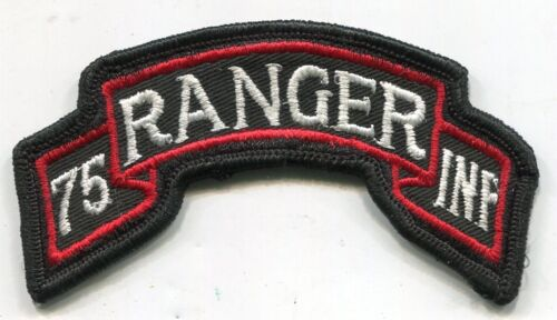 Vietnam Era US Army 75th Infantry RANGER Scroll Tab Color PatchPatches - 104015